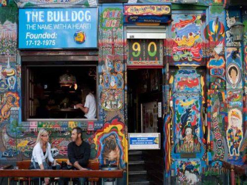 Coffeeshop Bike Tour - Cofeeshop Bulldog