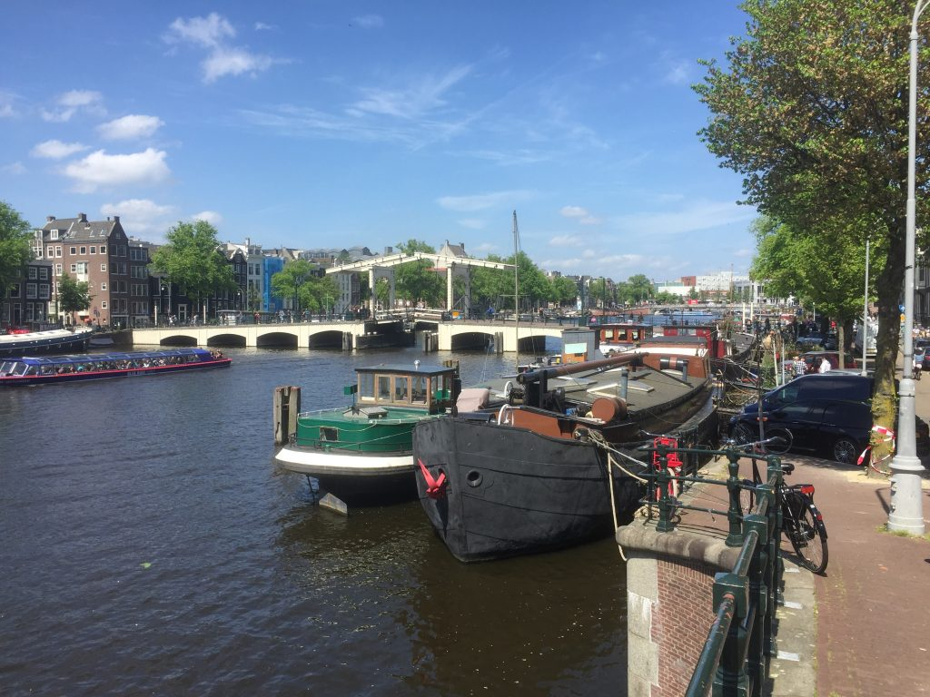 Amsterdam Windmill Tour - windmill t'haantje detail
